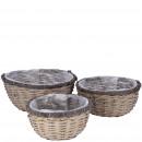 Pfl.anz bucket Agila, set of 3, diameter 32/27 / 2